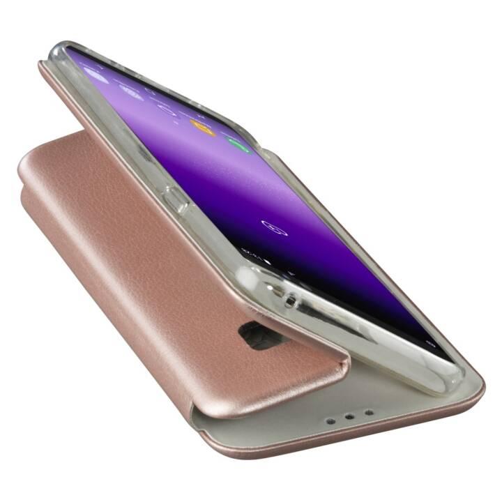 HAMA Flipcover Curve (Galaxy S8, Roségold, Métallique)