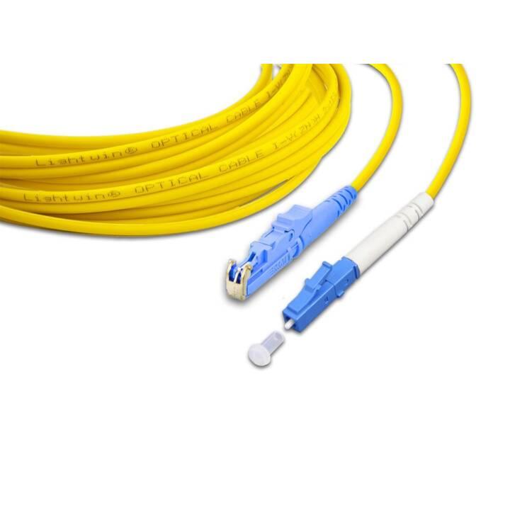 LIGHTWIN LSP-09 E2-LC 5.0 Netzwerkkabel (LC-Simplex, E-2000, 5 m)