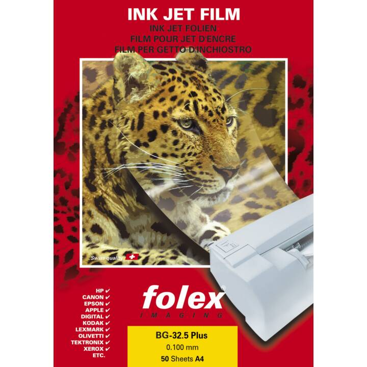 FOLEX IMAGING Film BG-32.5 RS Plus A4 Film de projection