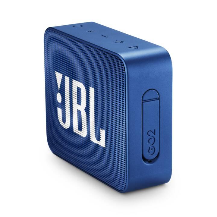JBL Go 2 Blu di mare profondo