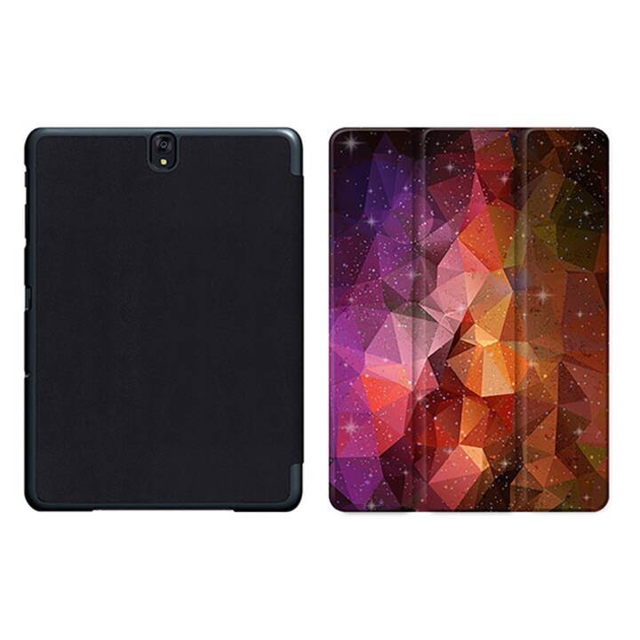 """EG MTT Sacoche à comprimés avec housse pliable Smart pour Samsung Galaxy Tab S3 9.7"""" MTT - Orange"""