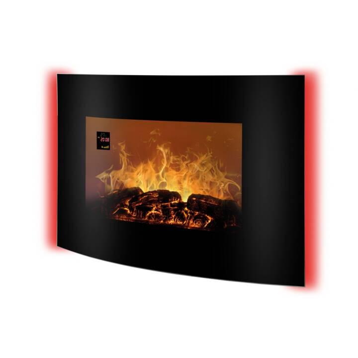 BOMANN radiateur soufflant EK 6022 CB poêle-cheminée 2000 W