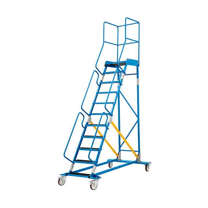 EUROKRAFT Premium Stehleiter (258 cm)
