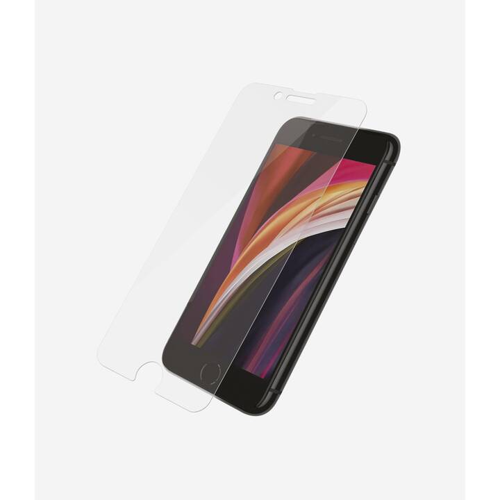 PANZERGLASS Sfoglio protezione da schermo Standard Fit (Cristallino, iPhone 6, iPhone 6s, iPhone 7, iPhone 8, iPhone SE)