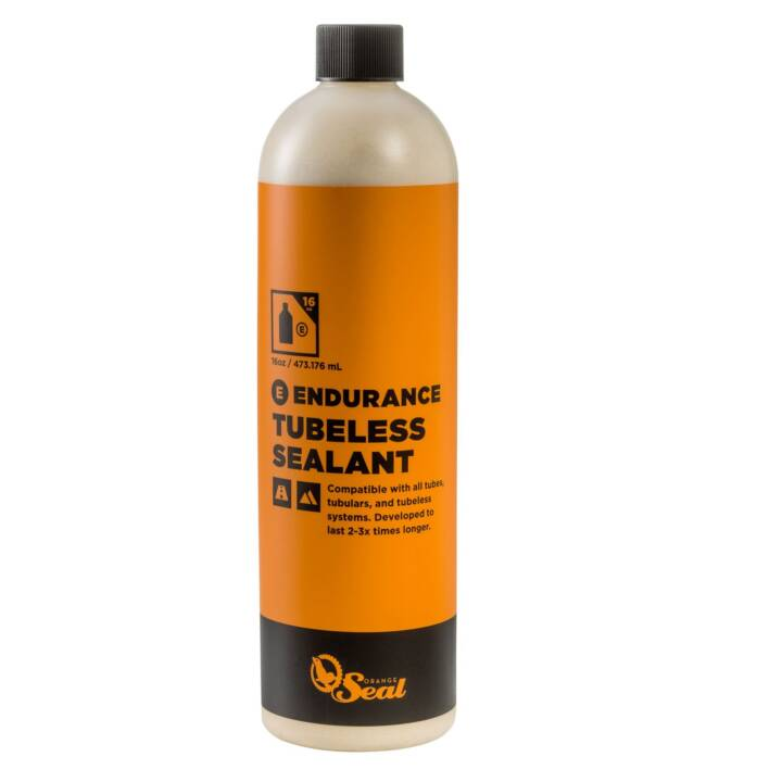 ORANGE SEAL Lait sans tube Lait de scellement au latex naturel ENDURANCE, 0,48 l