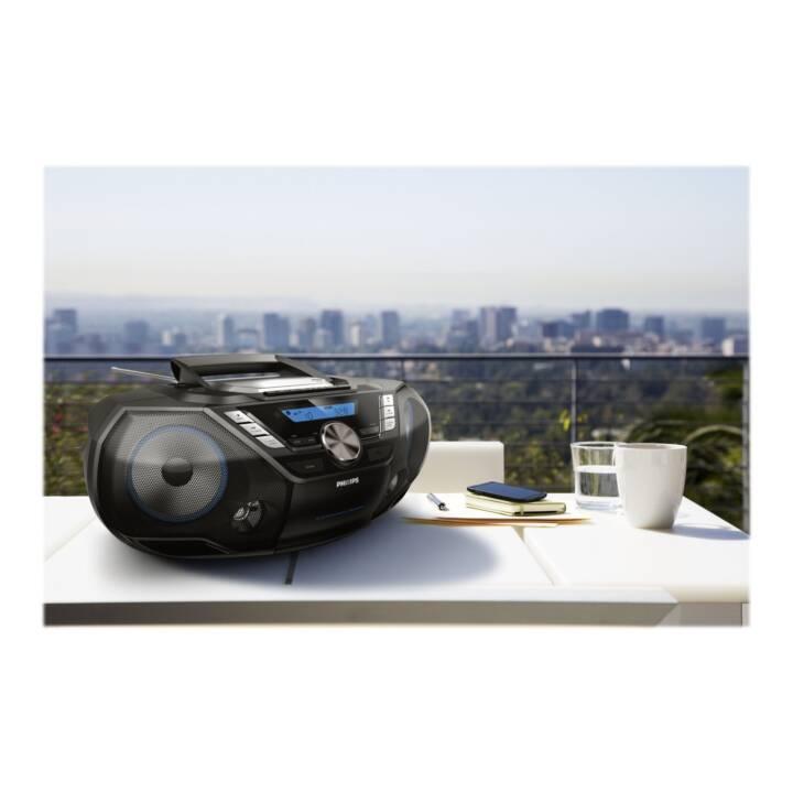 PHILIPS AZB798T  Radios numériques (Noir, Bleu, Multicolore)
