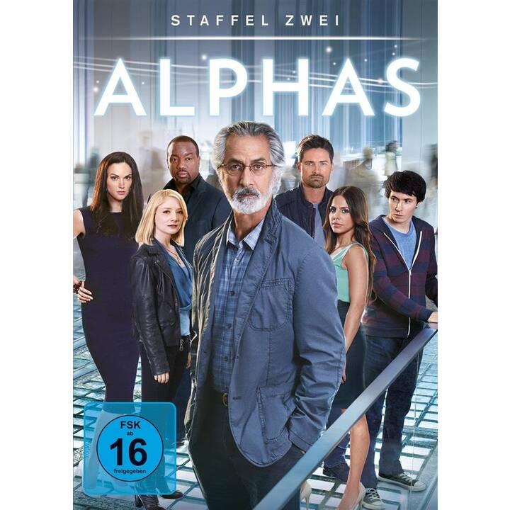Alphas Saison 2 (EN, DE)