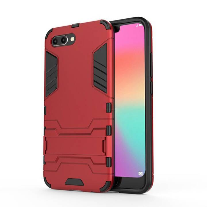 EG Mornrise Backcase con cavalletto per Samsung Galaxy S10 - Rosso