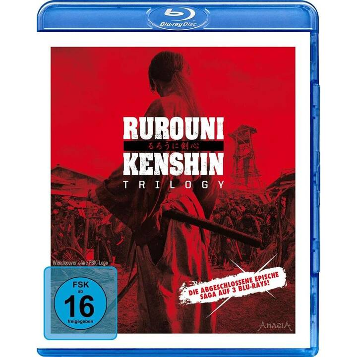 Rurouni Kenshin Trilogy (JA, DE)