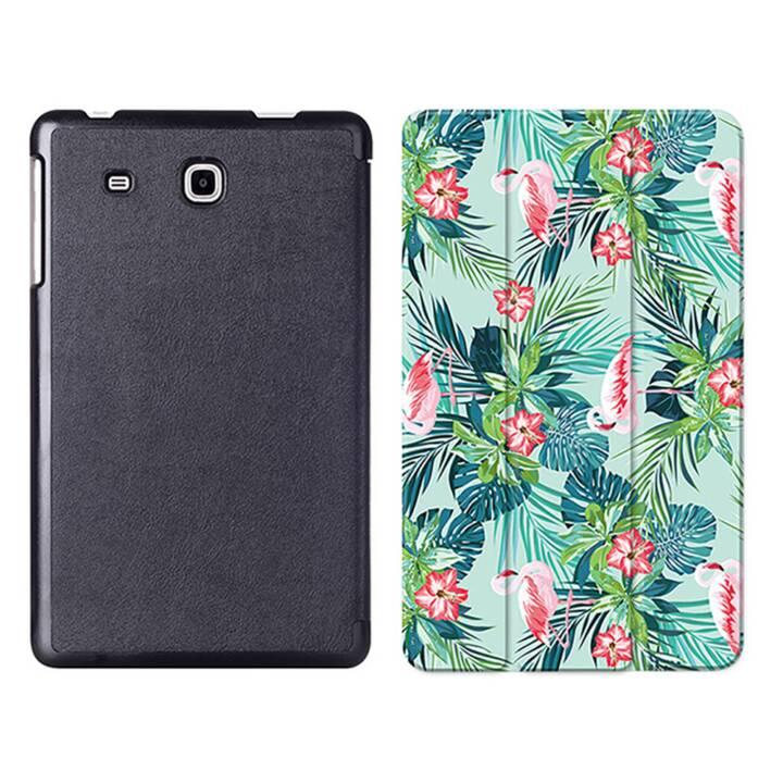 """EG MTT Tablet Tasche mit Smart faltbare Abdeckung für Samsung Galaxy Tab A A6 7 """"- Flamingo"""