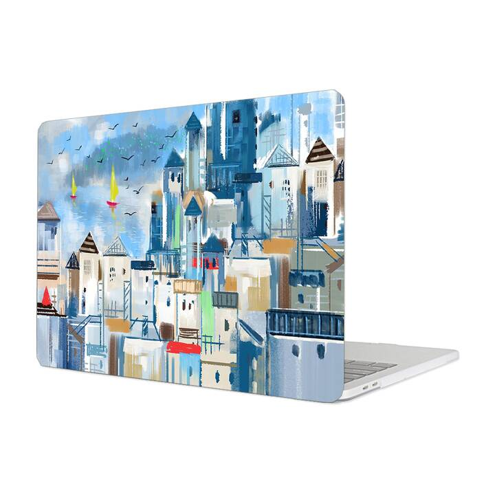 "EG MTT Hülle für Macbook Pro 13"" Not Touchbar (2016 - 2018) - Painting City"