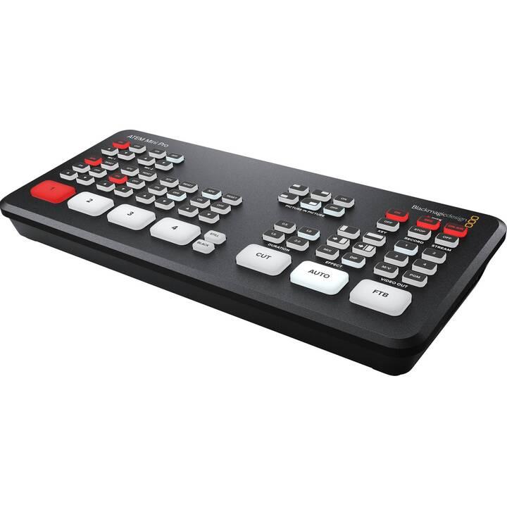 BLACKMAGIC DESIGN Atem Mini Pro Mixer video (Nero, 10.34 x 3.5 cm)