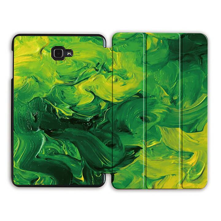 "EG MTT Tablet Bag con coperchio pieghevole Smart per Samsung Galaxy Tab A 10.1"" (2016) - Canvas Green"