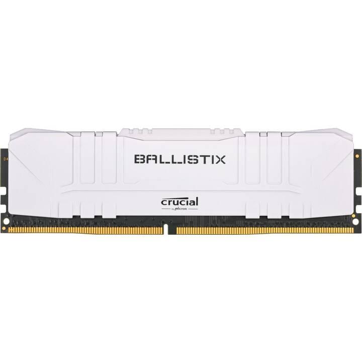 MICRON TECHNOLOGY Ballistix BL16G30C15U4W (1 x 16 Go, DDR4, DIMM 288-Pin)