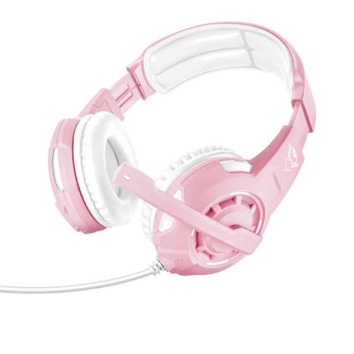 TRUST GXT 310P (On-Ear, Pink, Weiss)