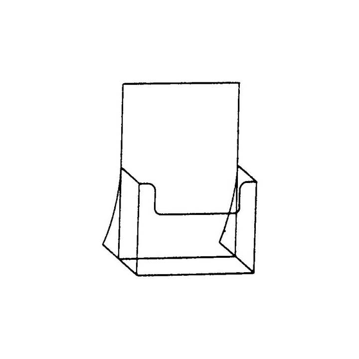 SEM Prospekt-Dispenser, A5, Transparent