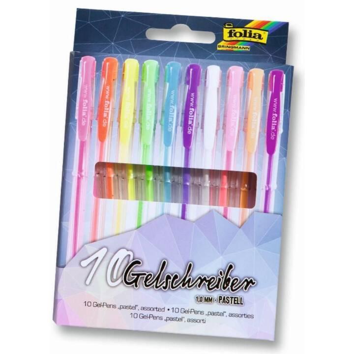 FOLIA Pastel - 10 stylos