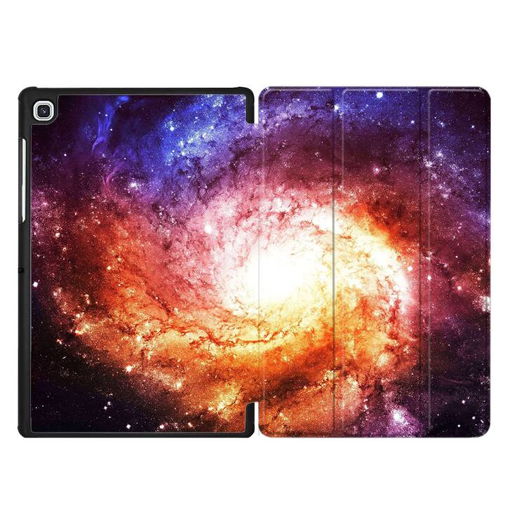"EG MTT Housse pour Samsung Galaxy Tab S5e 10.5"" 2019 - Univers"