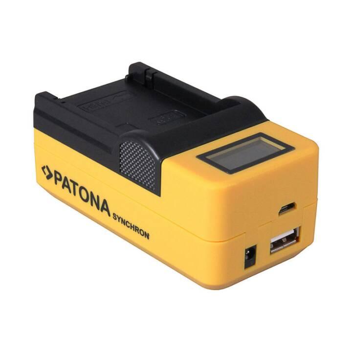 Chargeur PATONA Synchron USB pour Canon BP808