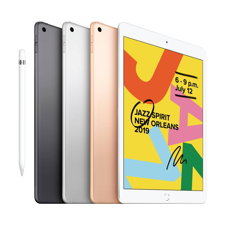 "APPLE iPad WiFi, 10.2"", 128 GB, Gold (2019)"