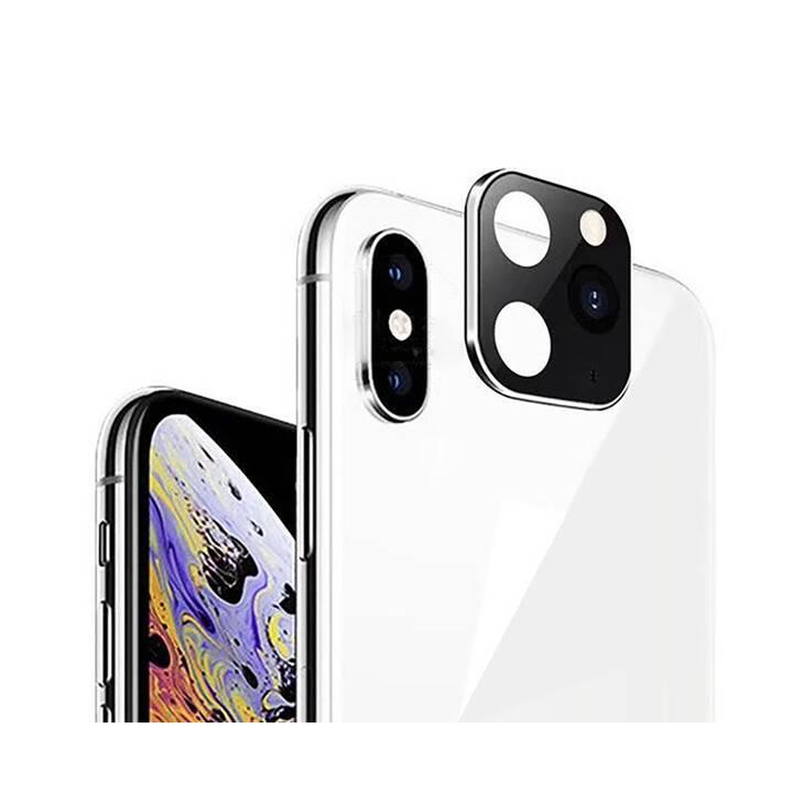 """EG Mornrise Protecteur d'objectif pour Apple iPhone X XS 5.8"""" - Argent"""
