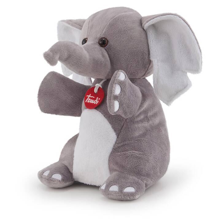 TRUDI Elephant (25 cm, Grigio)