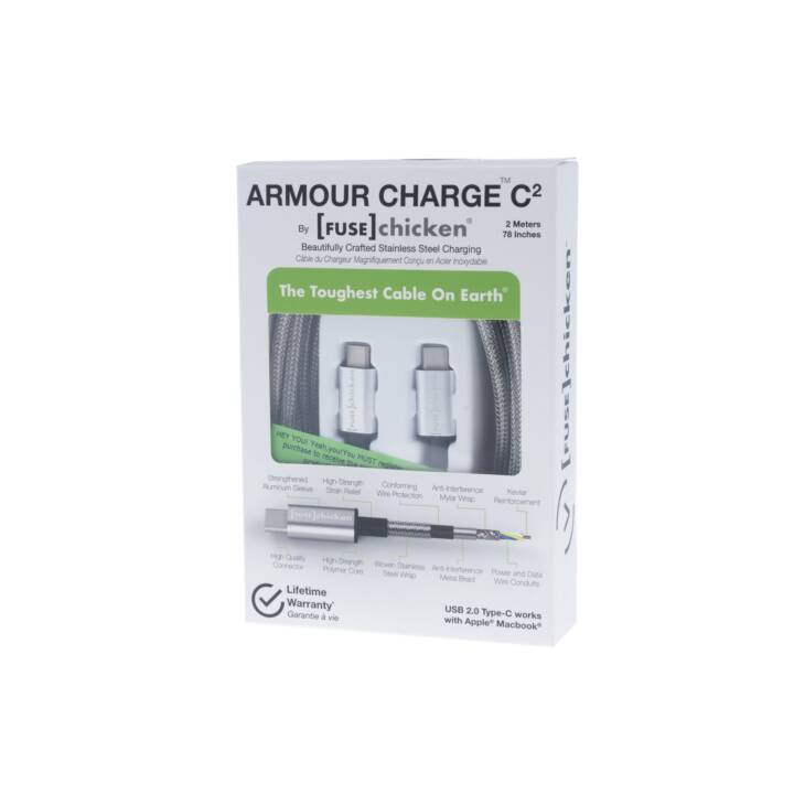 Fuse Chicken Metallkabel ARMOUR CHARGE C2 2m