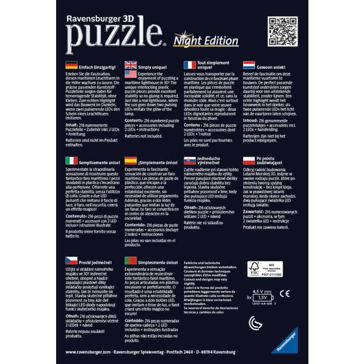 RAVENSBURGER faro di notte puzzle di puzzle