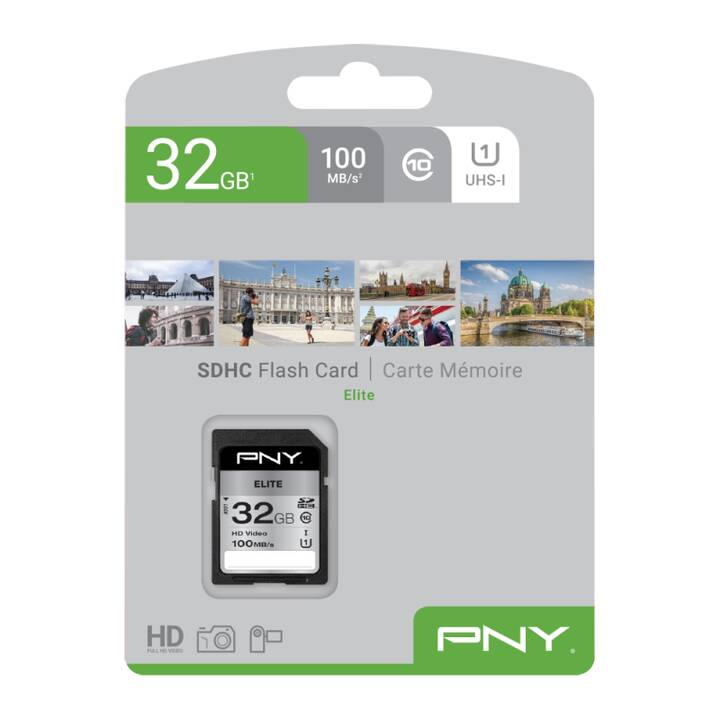 PNY SDHC Elite (Class 10, 32 GB)