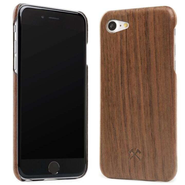 WOODCESSORIES Backcover EcoCase (iPhone 8, iPhone 7, iPhone SE, Brun)