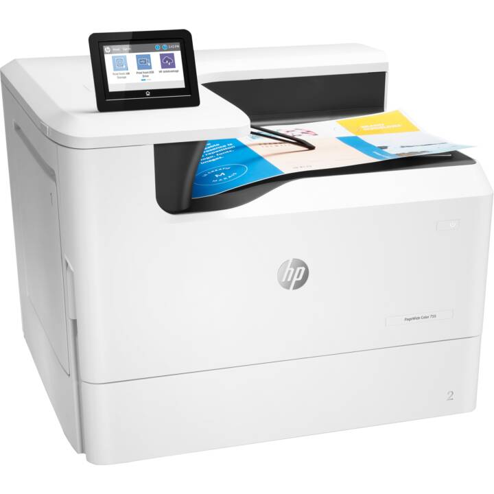 HP PageWide Color 755dn (Colori, WLAN, Wi-Fi)