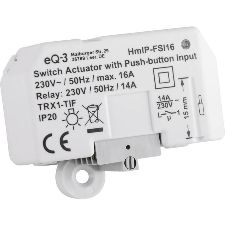 HOMEMATIC IP HMIP-FSI16 Actionneur d'interruption (Sans fil)