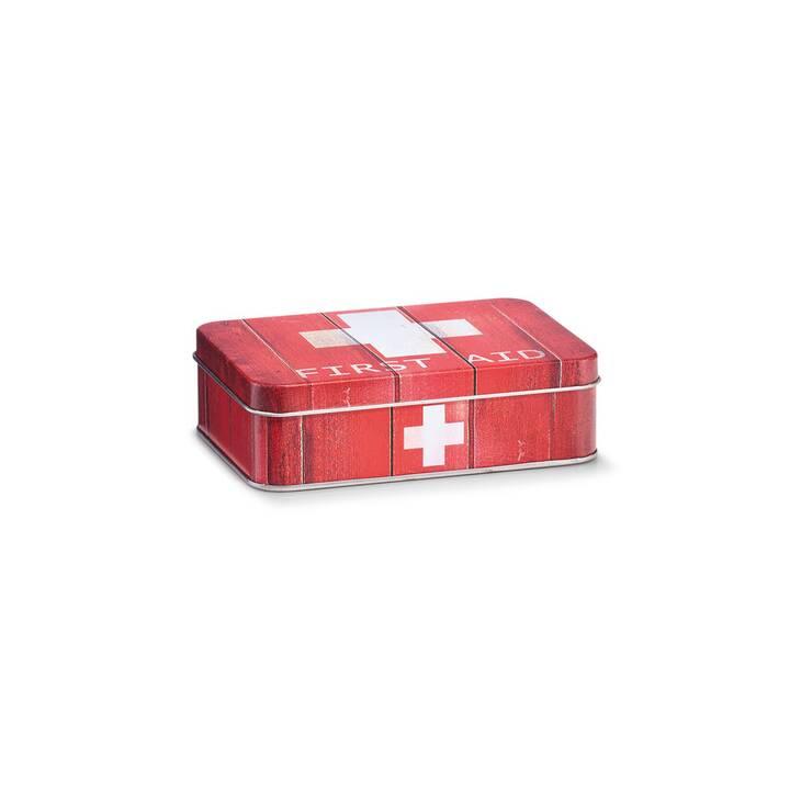 ZELLER PRESENT Armoir de premiers secours First Aid (Rouge, Blanc)