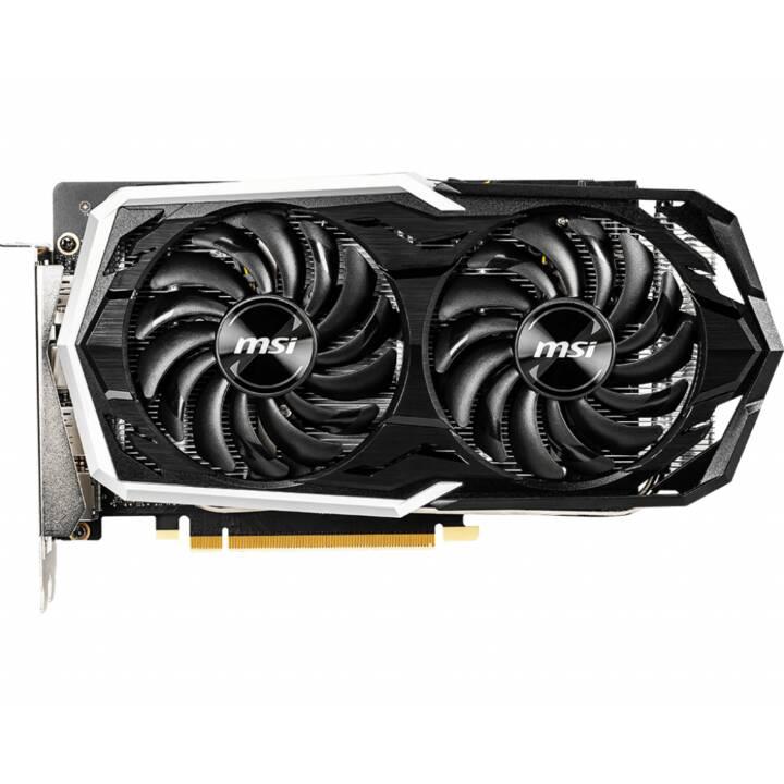 MSI Armor Nvidia GeForce GTX 1660 (6 Go, Gaming)