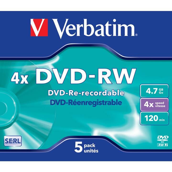 VERBATIM DVD-RW (4.7 GB)