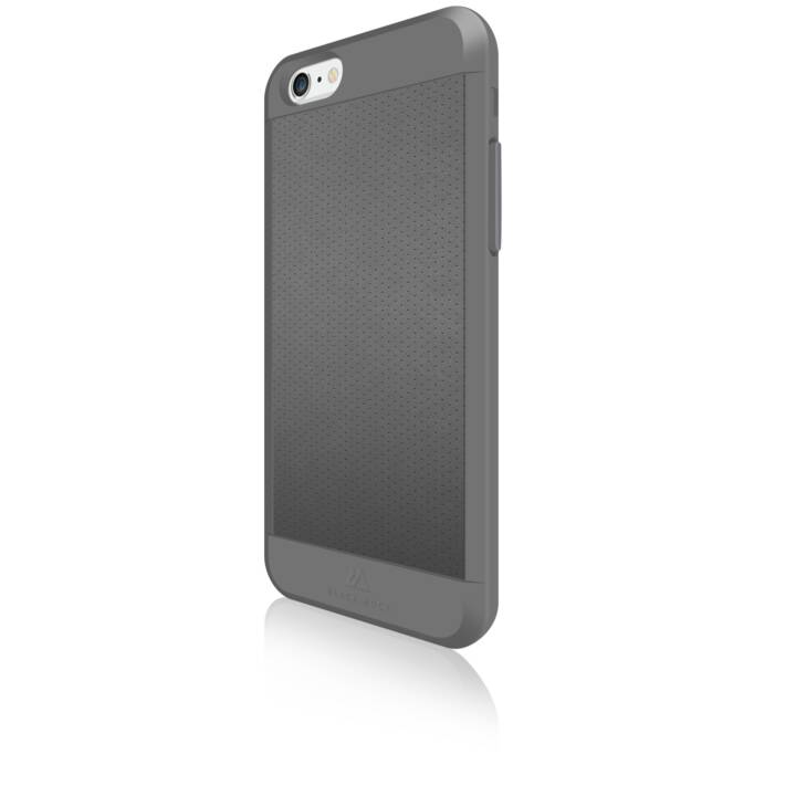 BLACK ROCK Backcover Material (iPhone 6, iPhone 6s, Grigio)