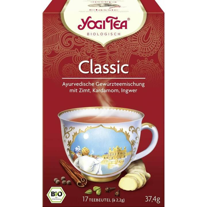 YOGI TEA Classic Tè condito (Bustina di tè, 17 pezzo)
