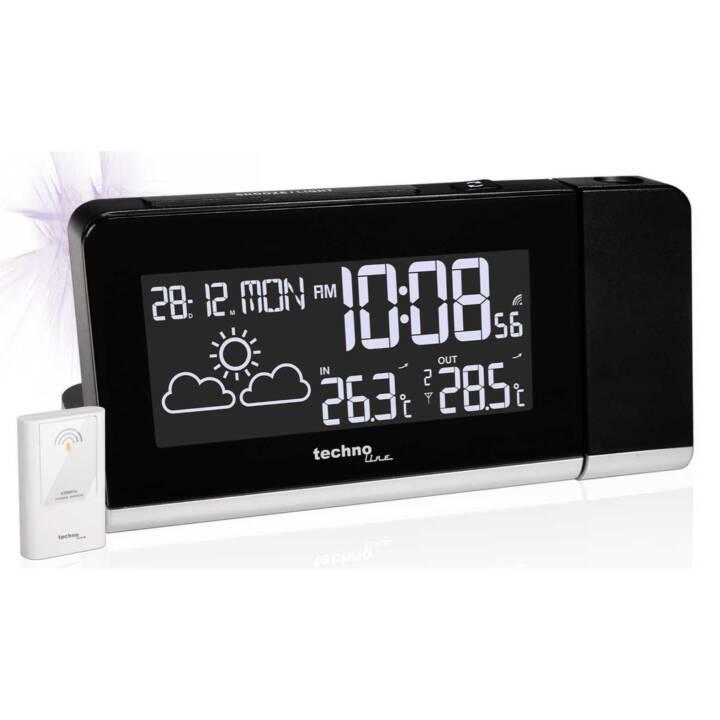 TECHNOLINE Projektions-Funkuhr WT 539 mit Wettervorhersage