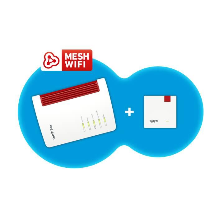 AVM FRITZ!MESH SET 7530 + 1200 Routeur
