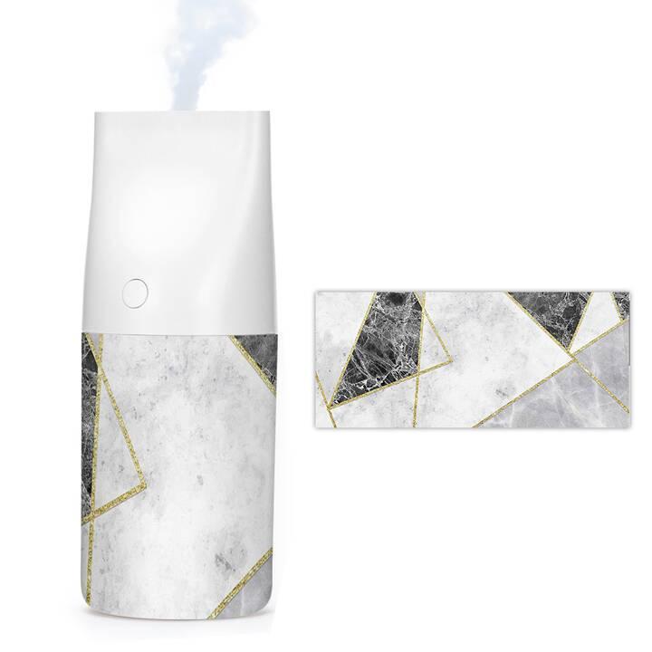 EG MTT 320ml USB Luftbefeuchter Aroma Diffusor mit Licht - Marmor