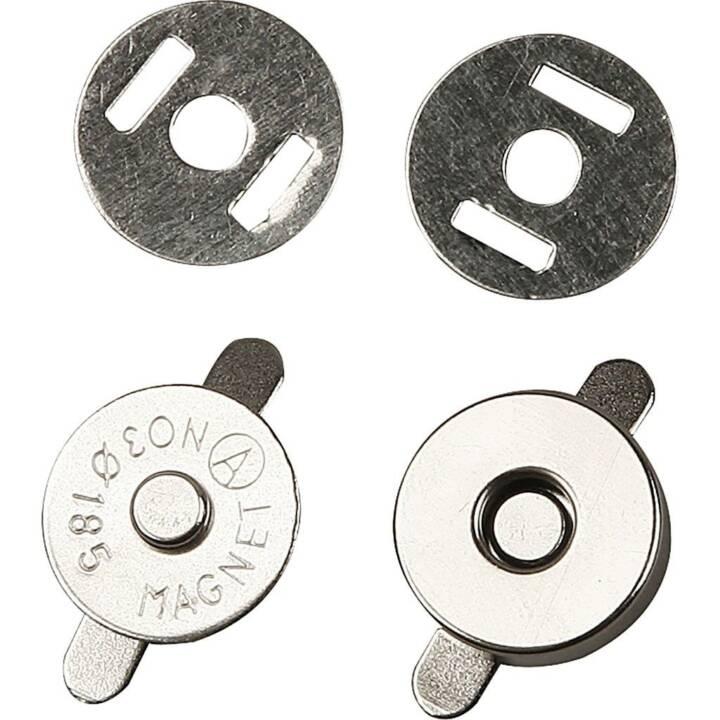 Boutons CREATIV fermeture magnétique, 25 pièces