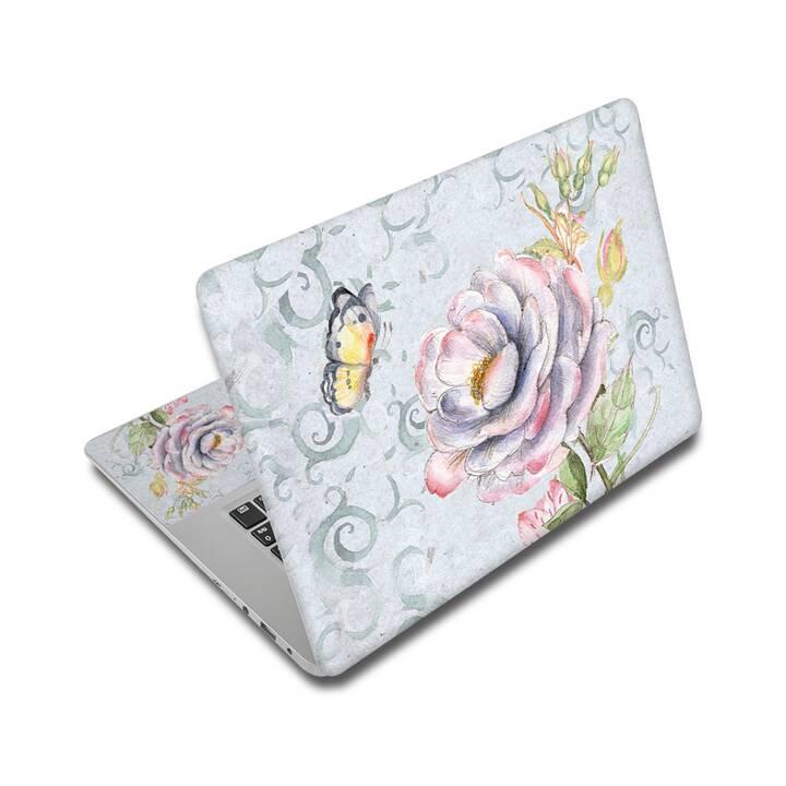 "EG Adesivo per Laptop 17"" - Farfalla"