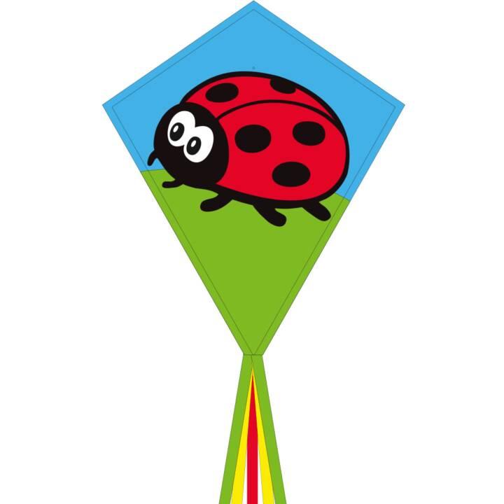 INVENTO-HQ acrobazia aquilone Eco Line Ladybug