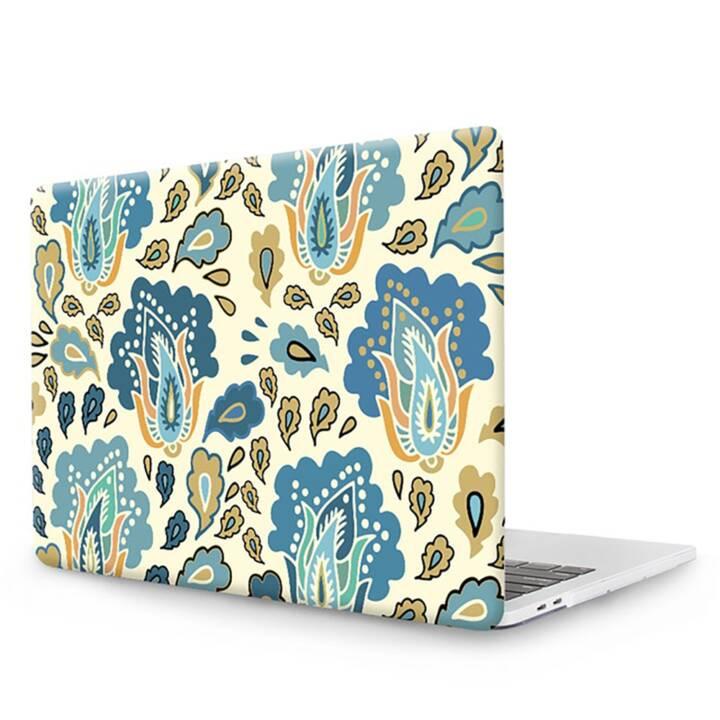 """EG MTT Copertina per computer portatile con copertura tastiera, protezione antipolvere, penna a sfera per MacBook Pro 13"""" Touch Bar - Etnica"""