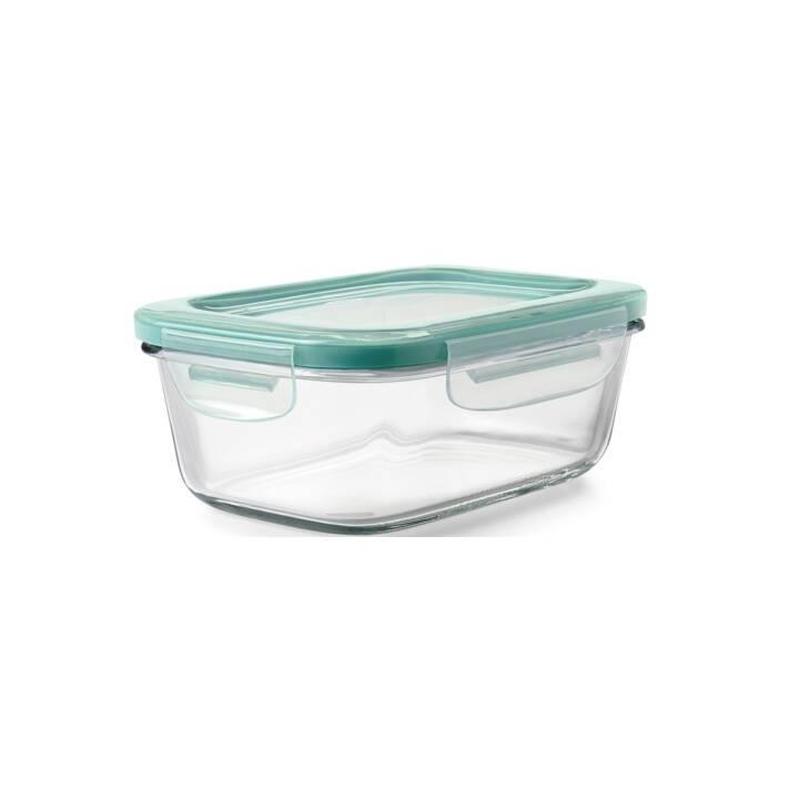 OXO Vorratsglas Snap (840 ml, Glas, Kunststoff)