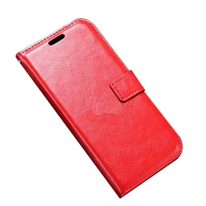 EG Mornrise Custodia a portafoglio per Huawei Honor 10 - Rossa