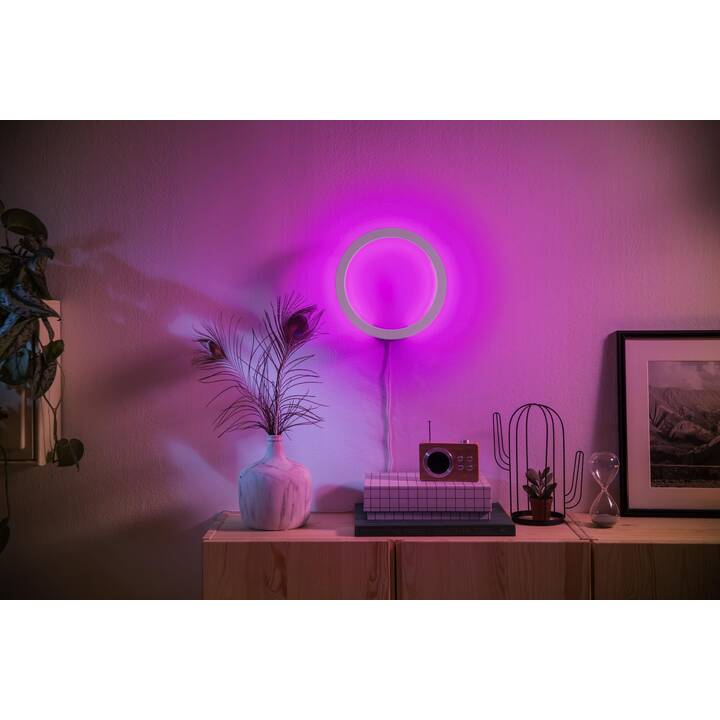 PHILIPS HUE Wandleuchte Sana White & Color Ambiance BT (Schwarz)