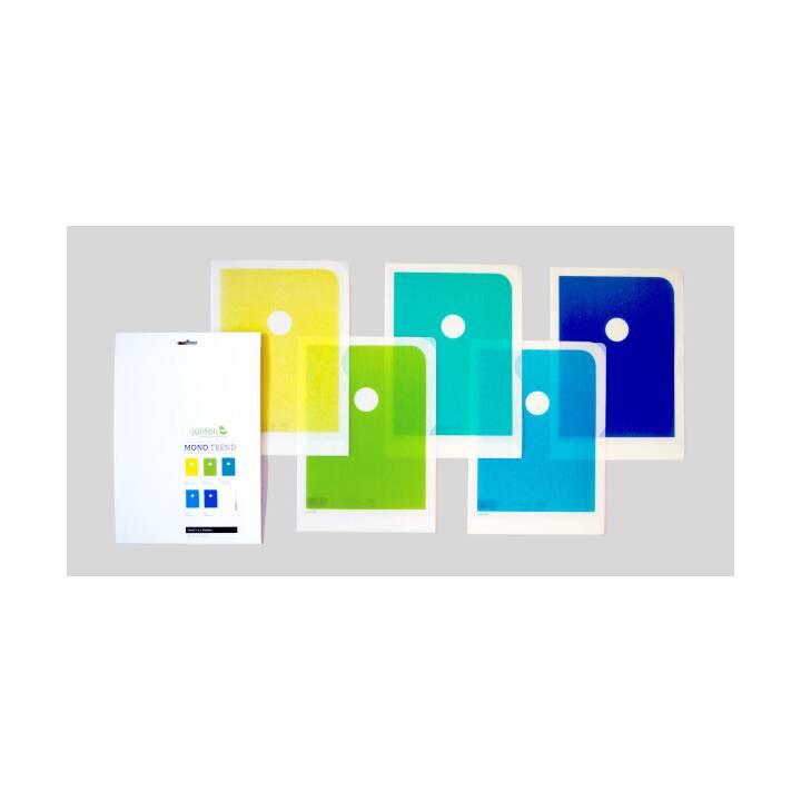 JULIFOLI Mono Trend 2 A4 multicolore A4 5 pezzi