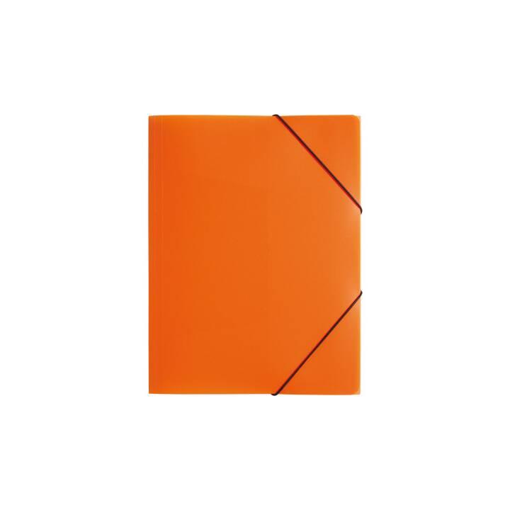 Cartella elastica PAGNA A4 arancione