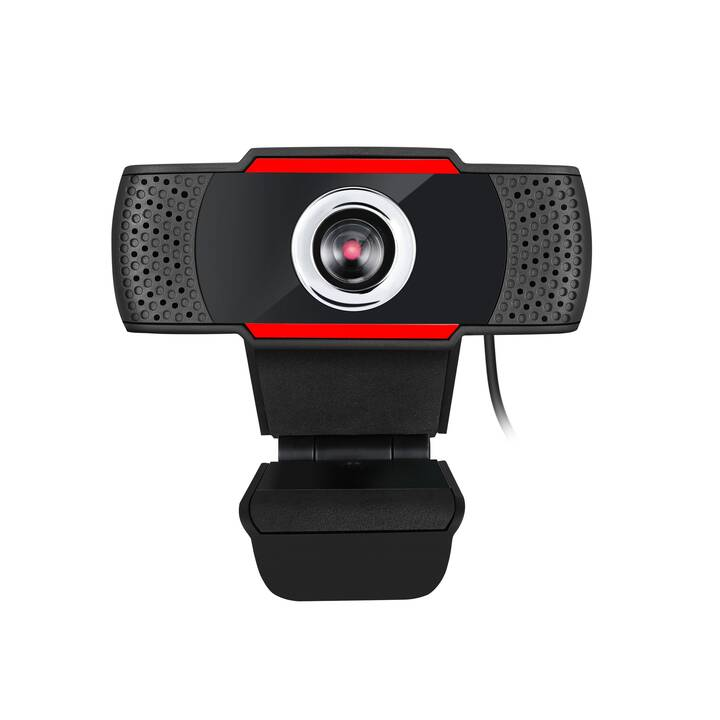 ADESSO CyberTrack H3 (1.3 MP, Rouge, Noir)